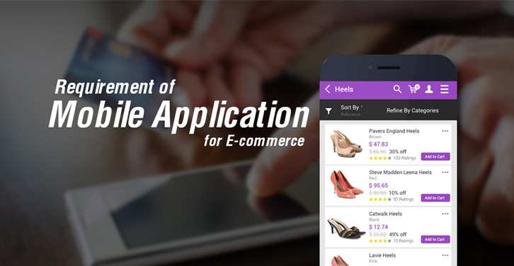 Mobile Application for Ecommerce