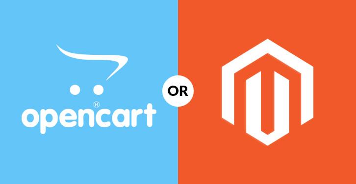 Opencart v/s Magento