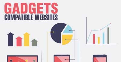 Gadget Compatible Website