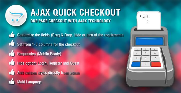 Ajax Quick Checkout