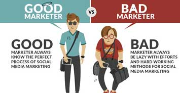 Good VS Bad Marketer