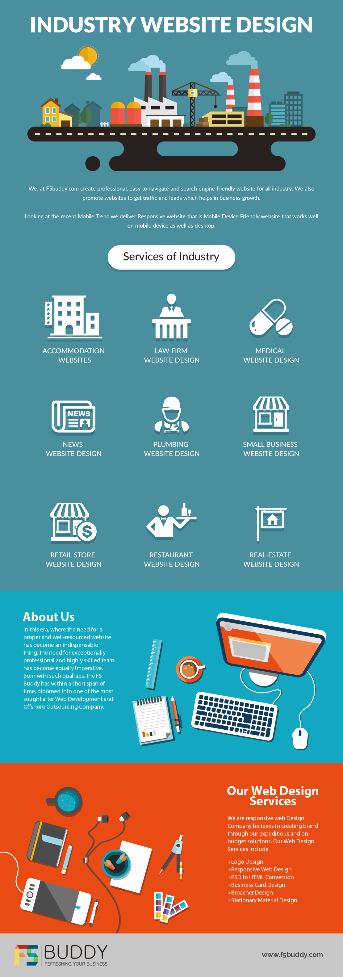 Industry Website Design