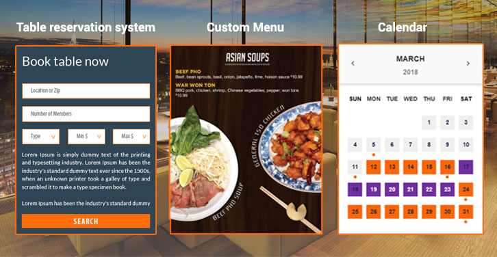 Features that a Restaurant Website Design should have! | F5