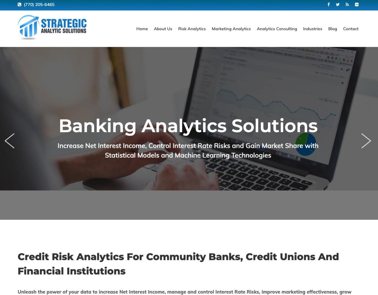 Strategic Analytic Solutions