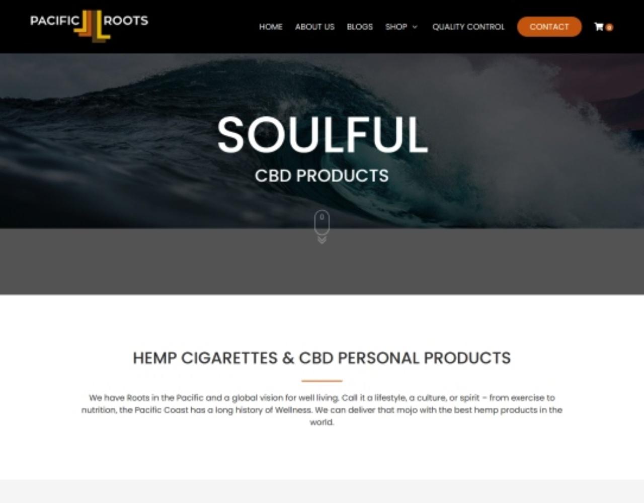 CBD Ecommerce Website Design